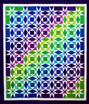 Calm Seas Double (Solids) <br/>Michelle Renee Hiatt Design