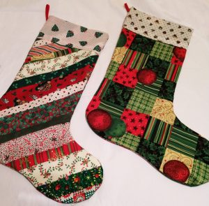 Christmas stocking for the Children's Workshop
