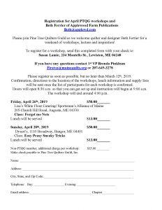 Beth Ferrier Registration Form, class 2019