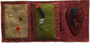 Wool Applique Sewing Kit 2