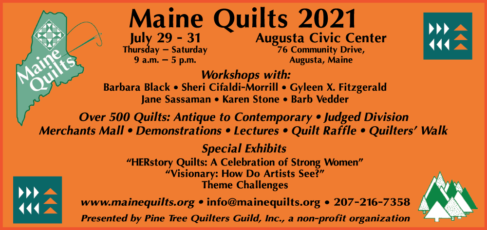 Maine Quilt Show 2021
