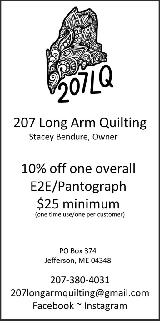 207 Long Arm Quilting