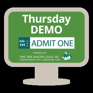 Live Demos Thursday